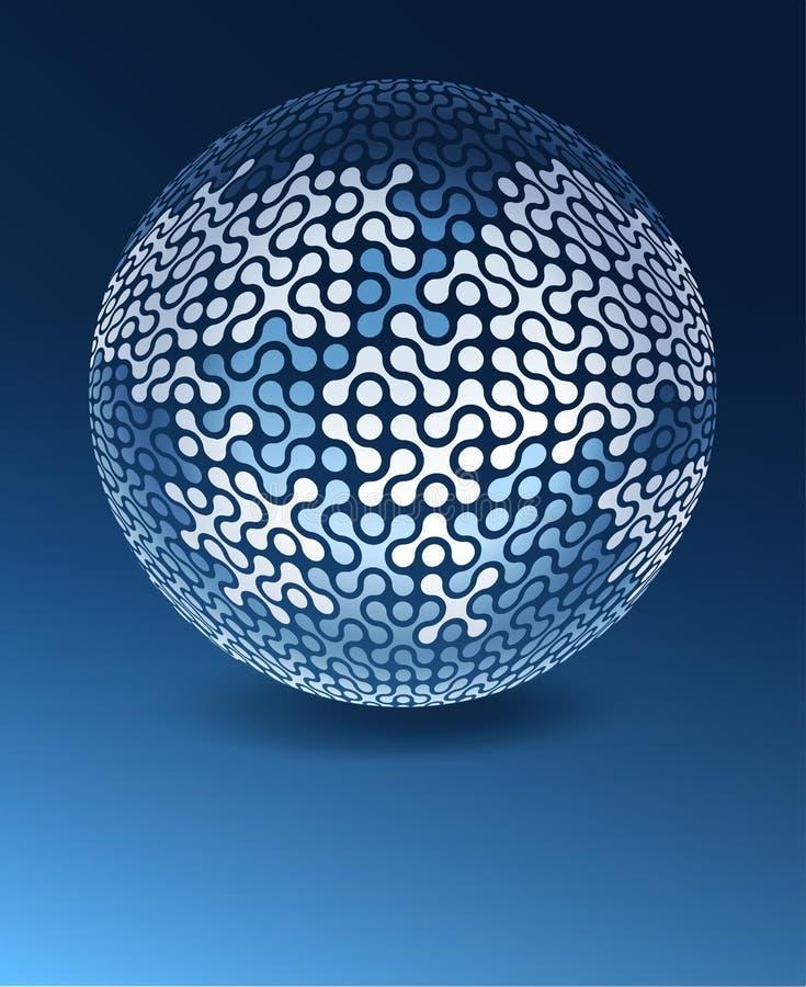 Download Globe network concept stock vector. Illustration of international - 25987541