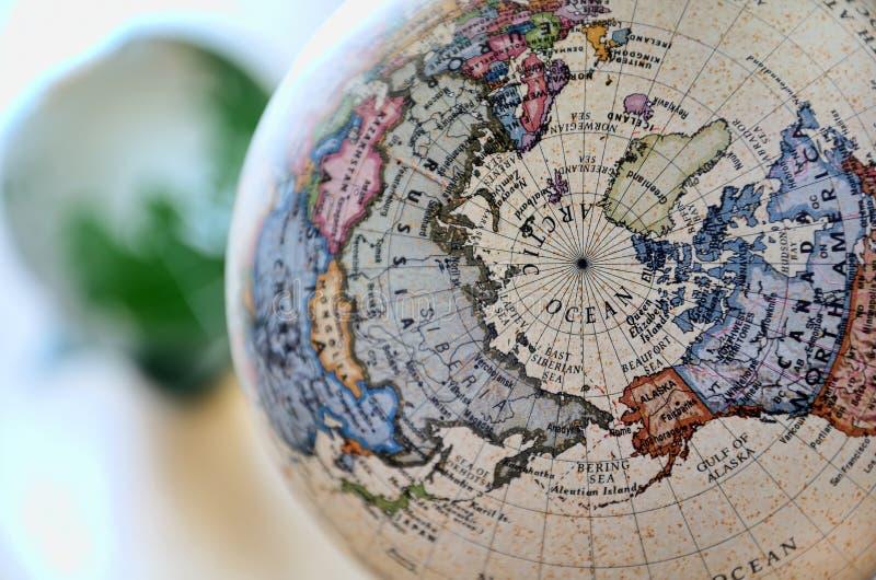 Globe (océan arctique) image libre de droits