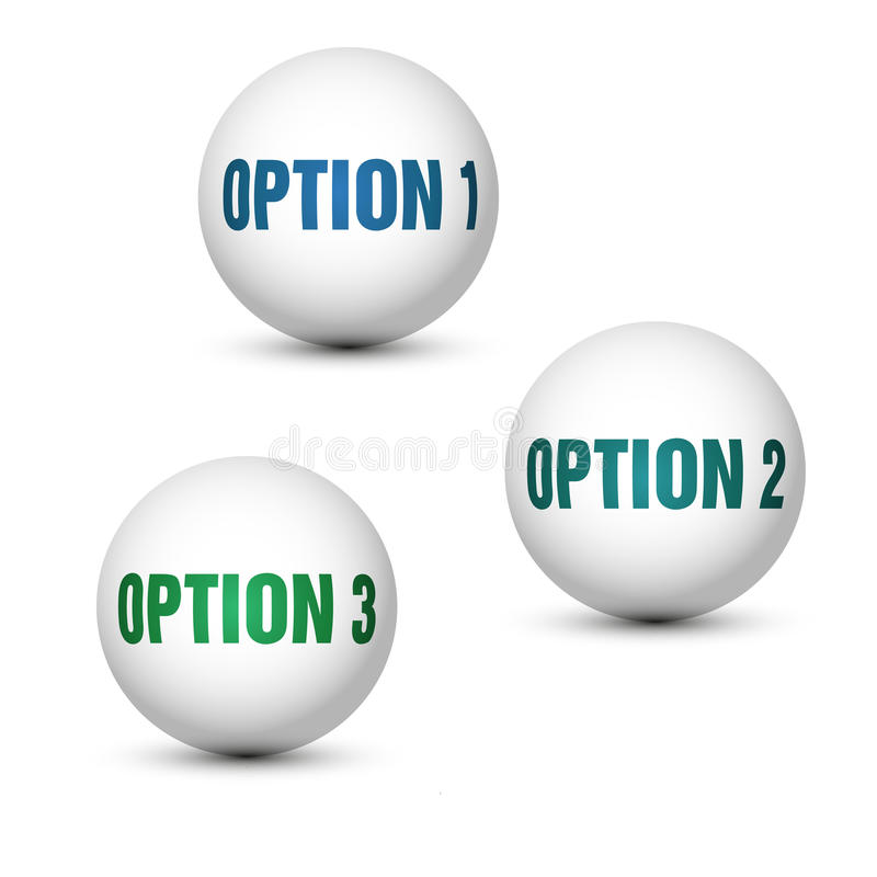 Download Globe options stock illustration. Image of layout, cover - 28802087