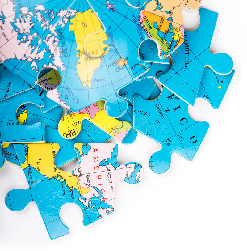 Download Globe Puzzles Stock Image - Image: 30626941