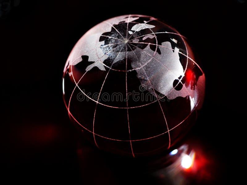 Globe rouge image stock