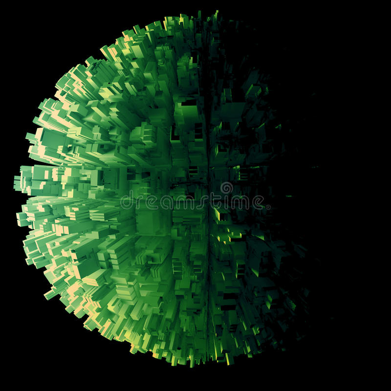 Download Globe of skyscrapers stock illustration. Illustration of background - 22401702