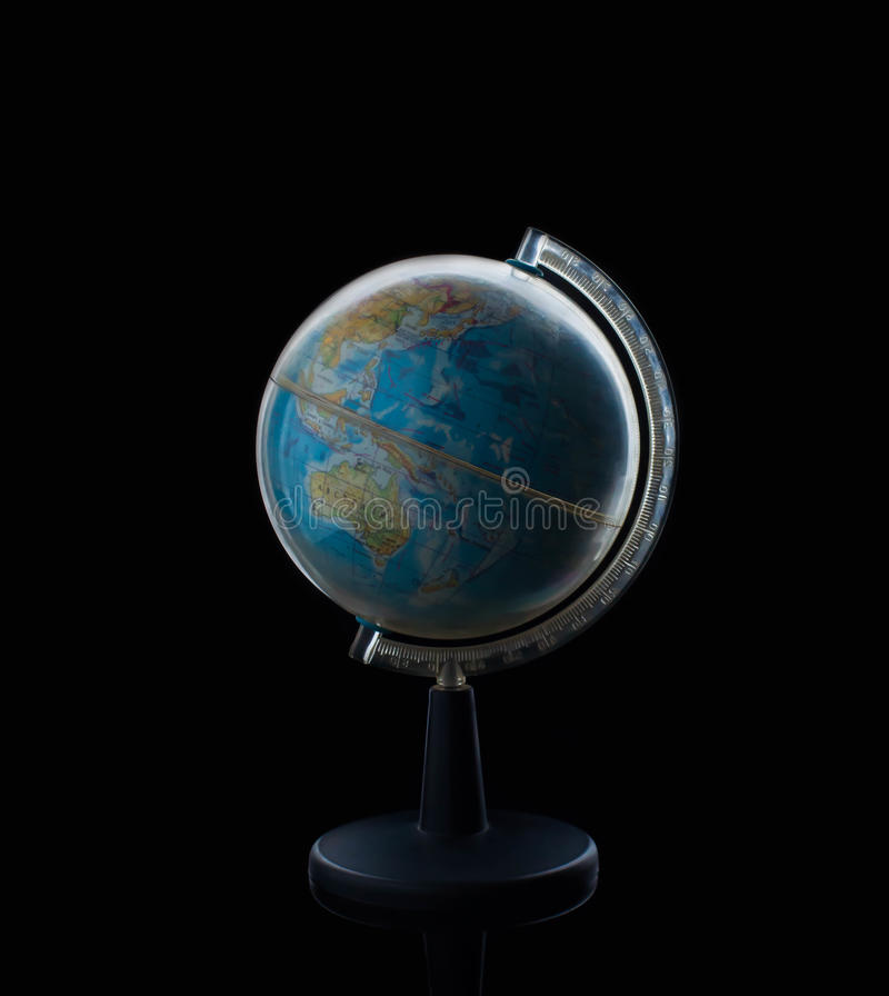 Globe sphere orb model effigy. vintage style world, global, education. Geography, travel earth stock photos