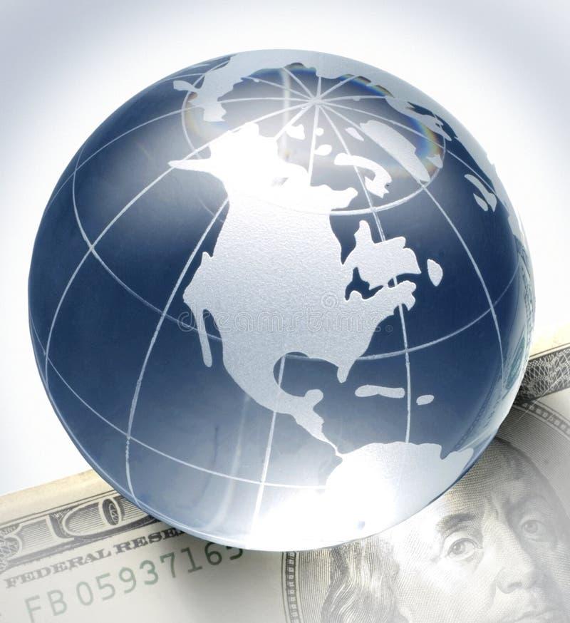Globe sur la facture
