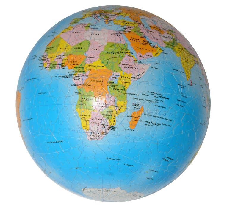 Globe terrestre image stock