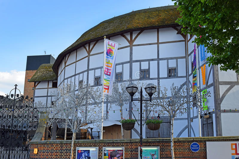 Globe Theater, London royalty free stock photo