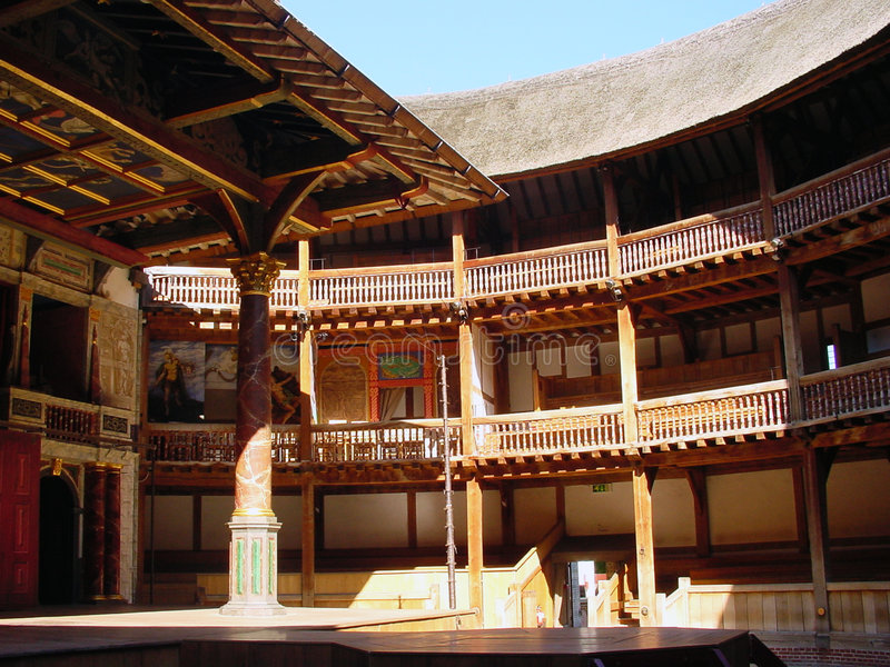 Download Globe theatre stock photo. Image of shakespeare, england - 8470798