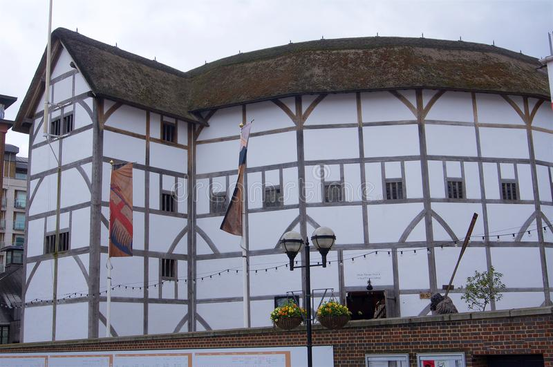 Globe Theatre London royalty free stock image