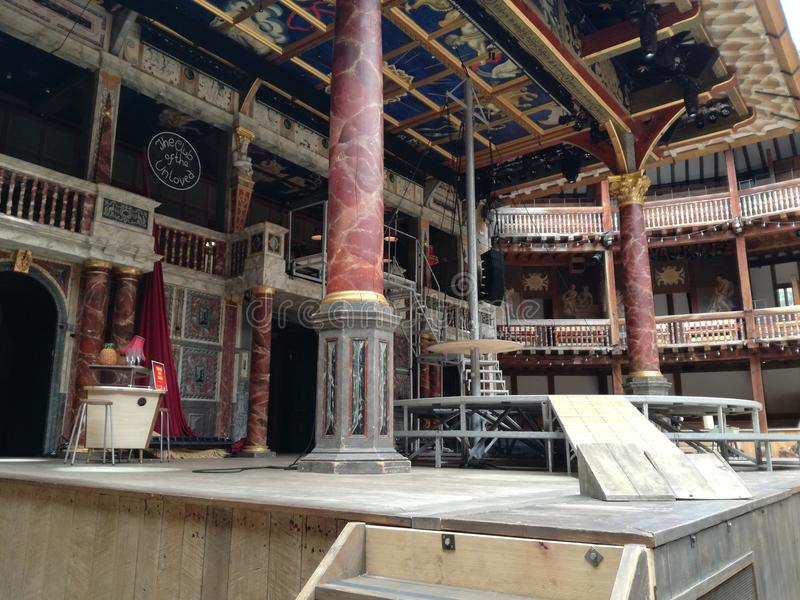Globe Theatre stock images