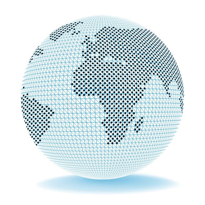 Globe Trade Shows Corporate Worldwide et Company illustration libre de droits