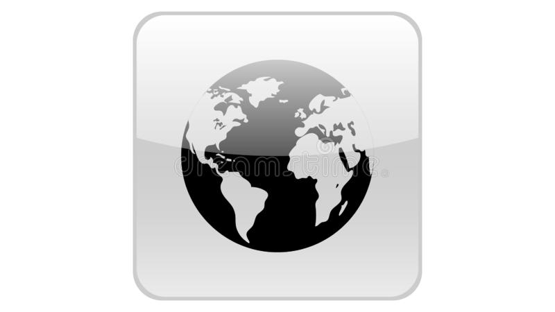Globe vector icon. Earth icon vector design. Globe vector icon vector illustration