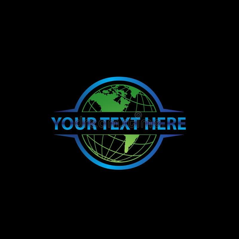 Globe vector Logo Design Template. For Communication, network and worldwide business vector illustration