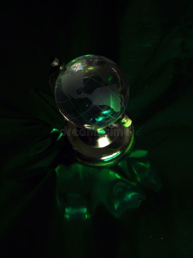 Globe vert photo libre de droits