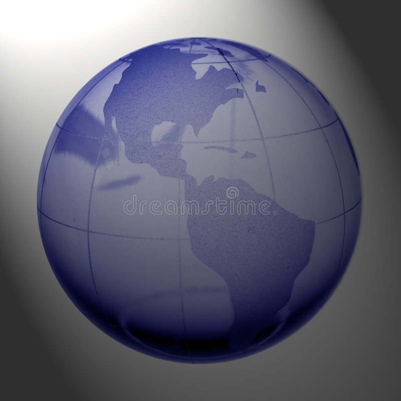 Globe of the World stock illustration