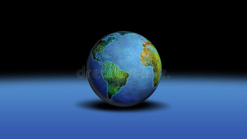 Globe World stock illustration