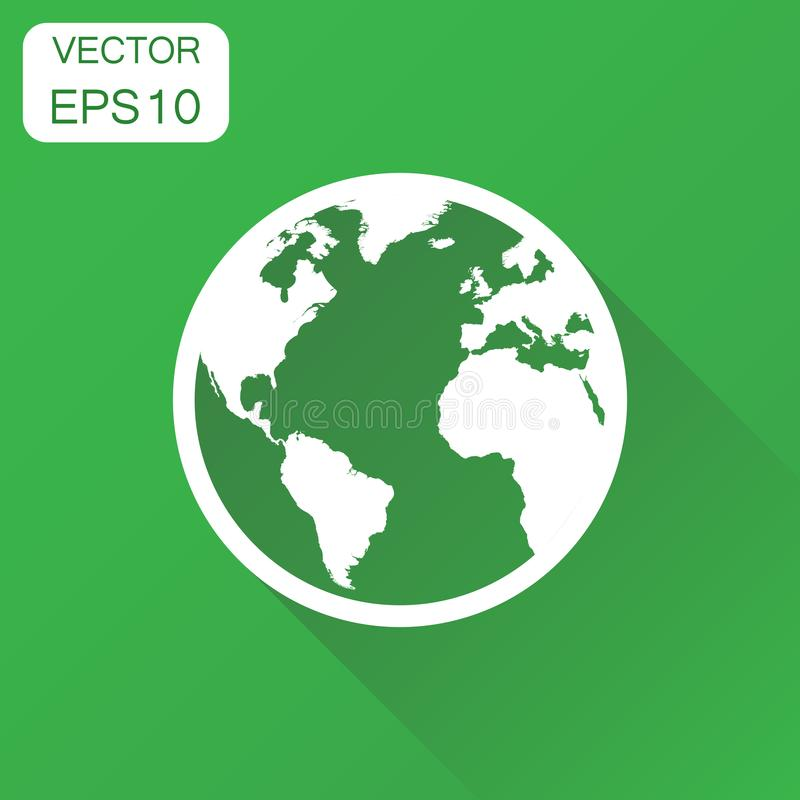 Globe world map icon business concept round earth pictogram ve download globe world map icon business concept round earth pictogram ve stock vector gumiabroncs Choice Image