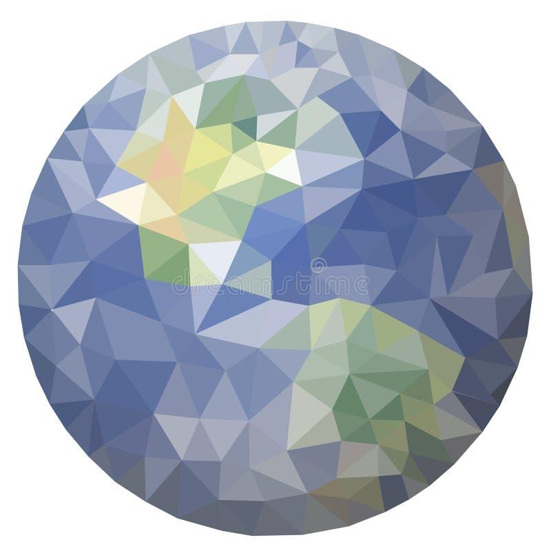 Globe world planet vector icon map network internet technology symbol illustration design Abstract wallpaper print sphere circle royalty free illustration