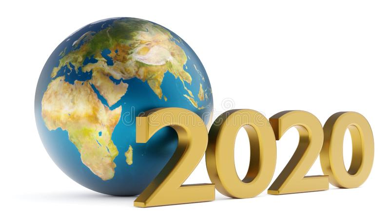 Globe 2020 africa stock photos