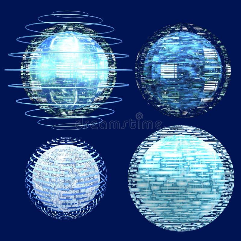 Download Globes stock illustration. Illustration of ball, webdesign - 2806782