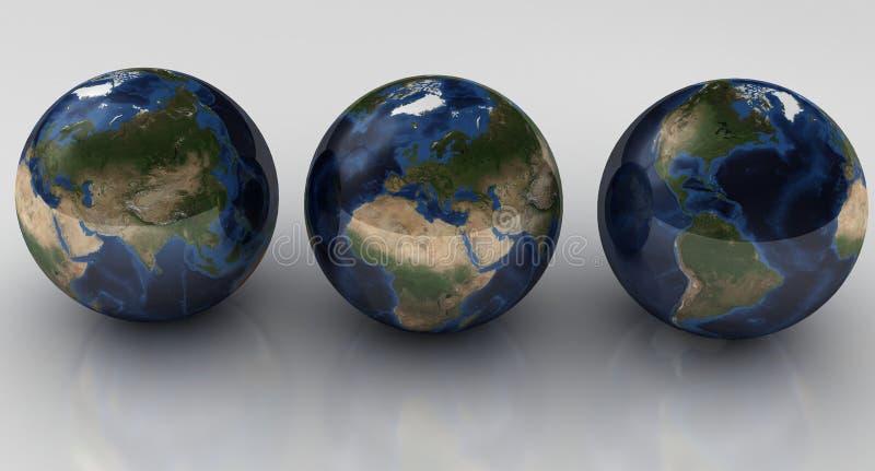 Download Globes concept stock illustration. Illustration of mini - 12372941