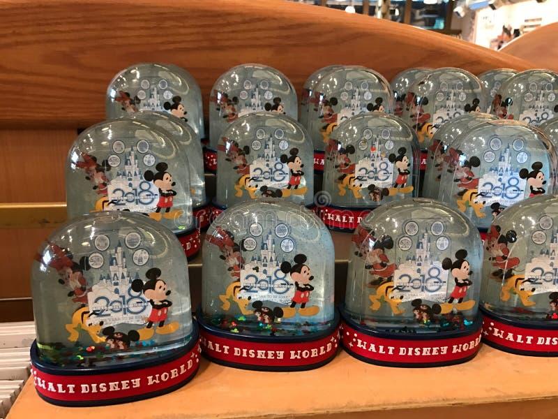 Globes de Walt Disney World Small Snow photos stock