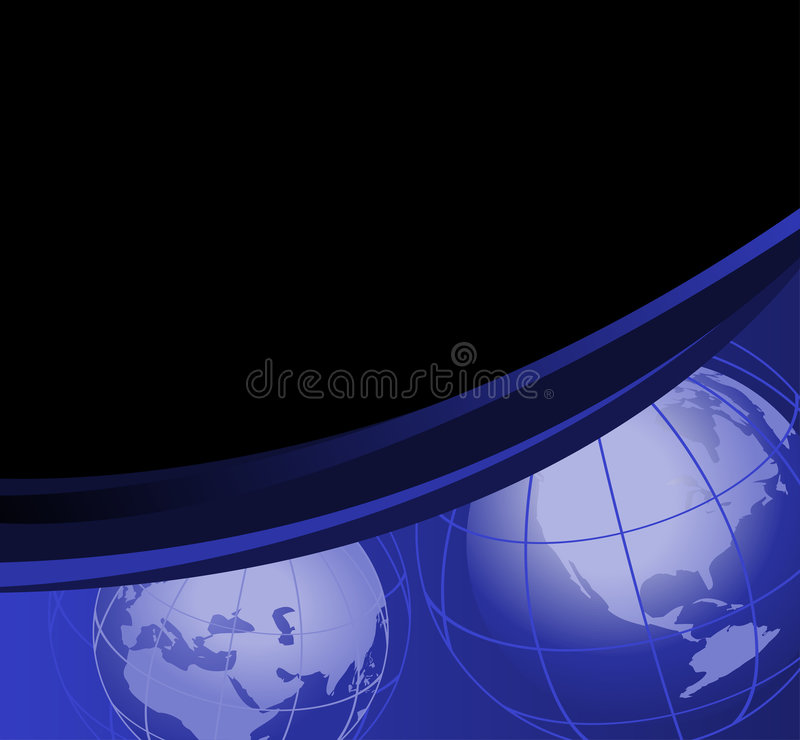 Download Globes du monde illustration de vecteur. Illustration du blanc - 8667978