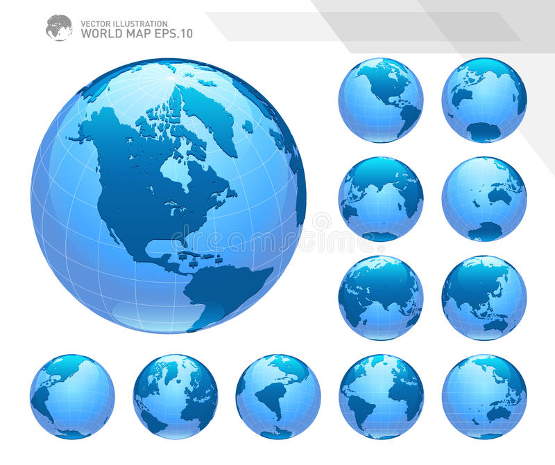 Map of world single color 52 world map vectors eps png jpg svg download globes showing earth with all continents digital world globe vector dotted world map gumiabroncs Images