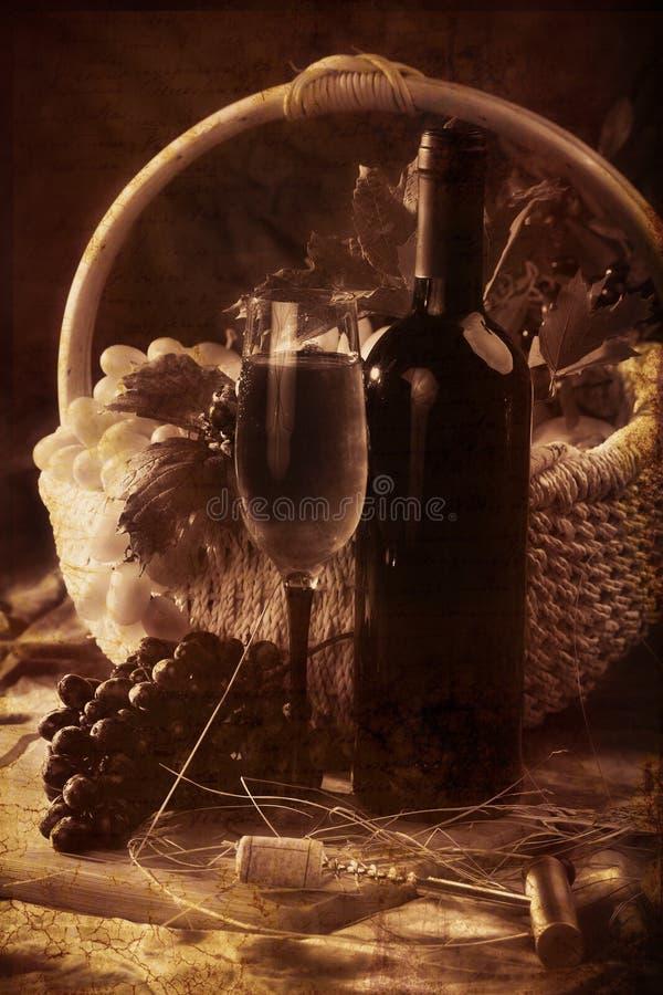 Globet del vino fotografia stock