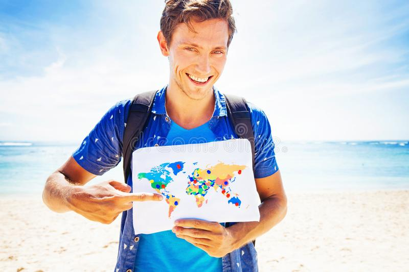 Globetrotter royalty free stock photography