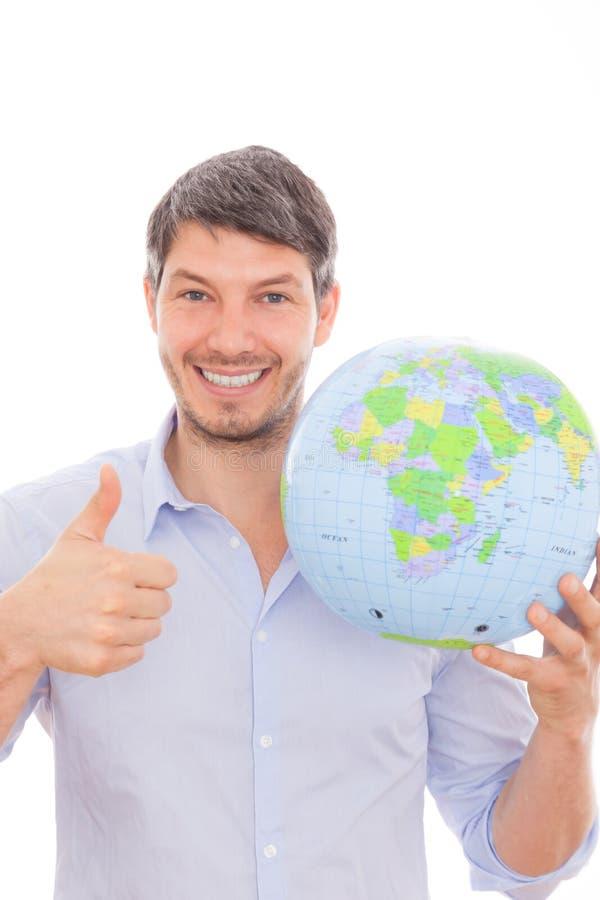Globetrotter mondial images stock