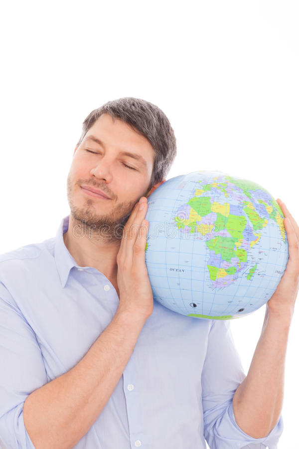 Globetrotter mondial photographie stock