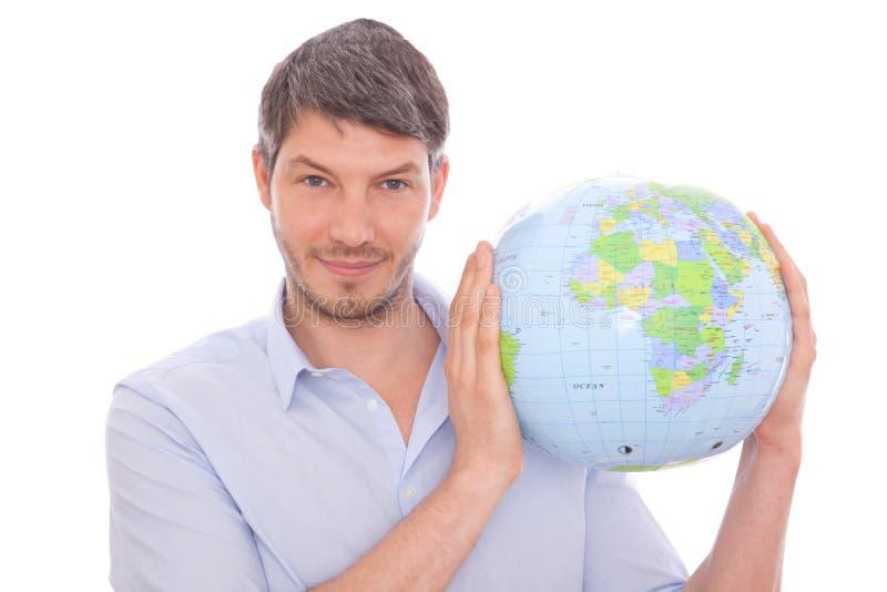 Globetrotter mondial photo libre de droits