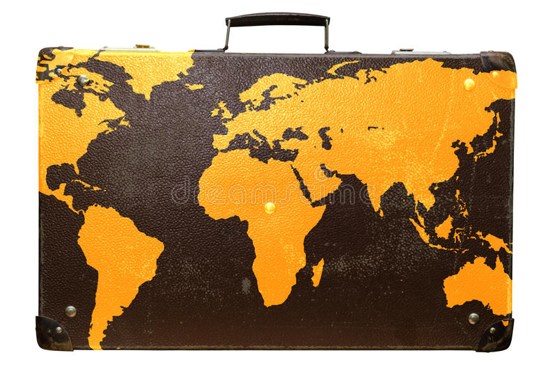 Globetrotter royalty free stock image