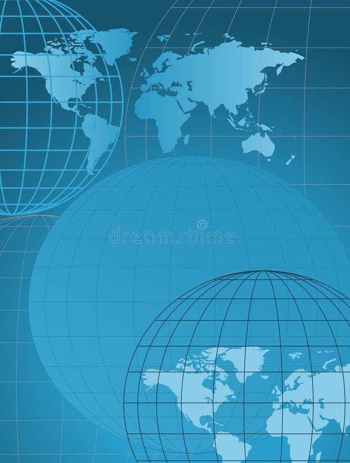 Globi e programmi illustrazione di stock