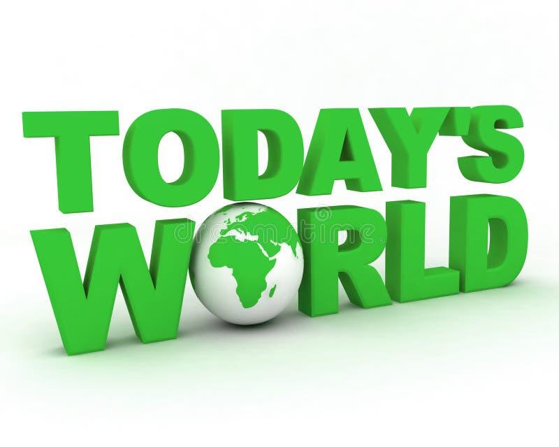 Globo 005 del mondo di WWW illustrazione di stock