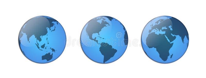 globo ilustração royalty free