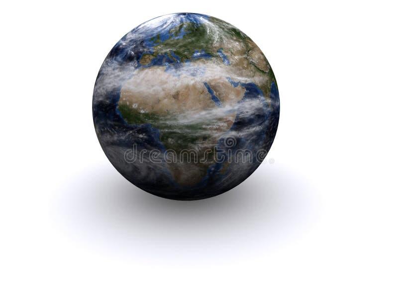 globo 3d ilustração stock