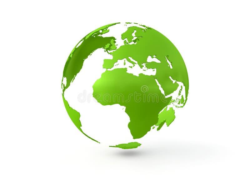 globo 3D ilustração royalty free