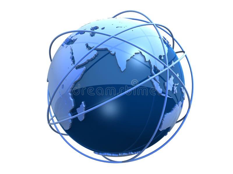 globo 3d illustrazione di stock