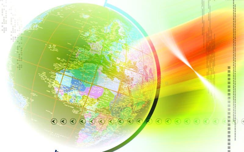 Download Globo stock de ilustración. Ilustración de geográfico - 7282548