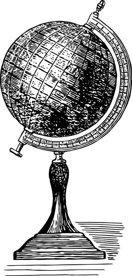 Globo antiguo libre illustration
