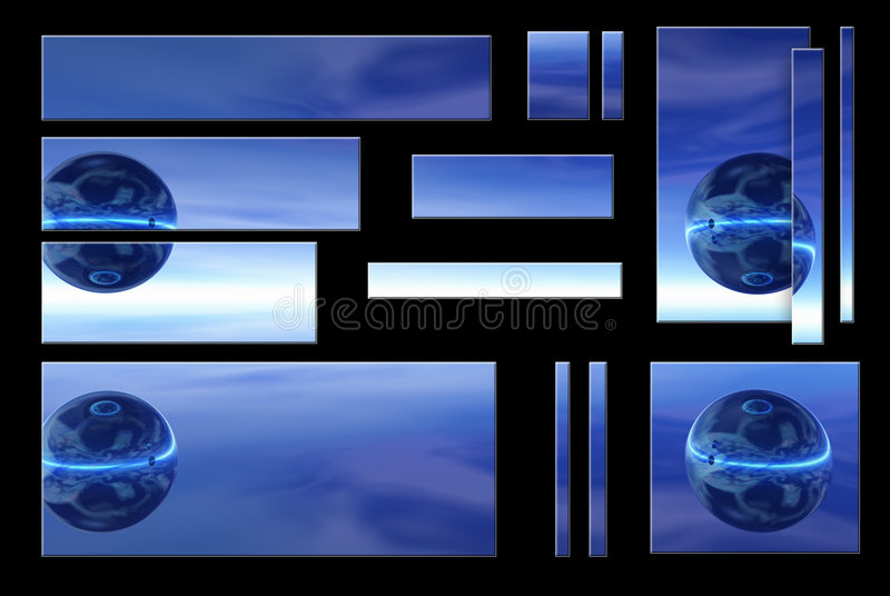 Globo azul libre illustration