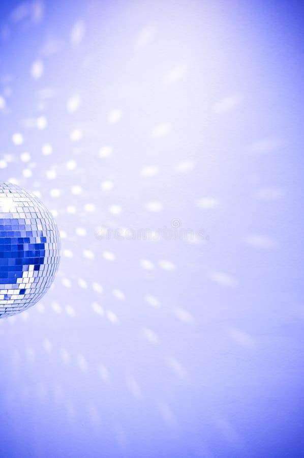 Globo azul del disco foto de archivo libre de regalías