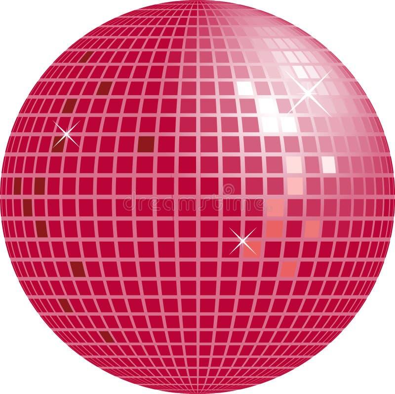 Globo brilhante do disco ilustração stock