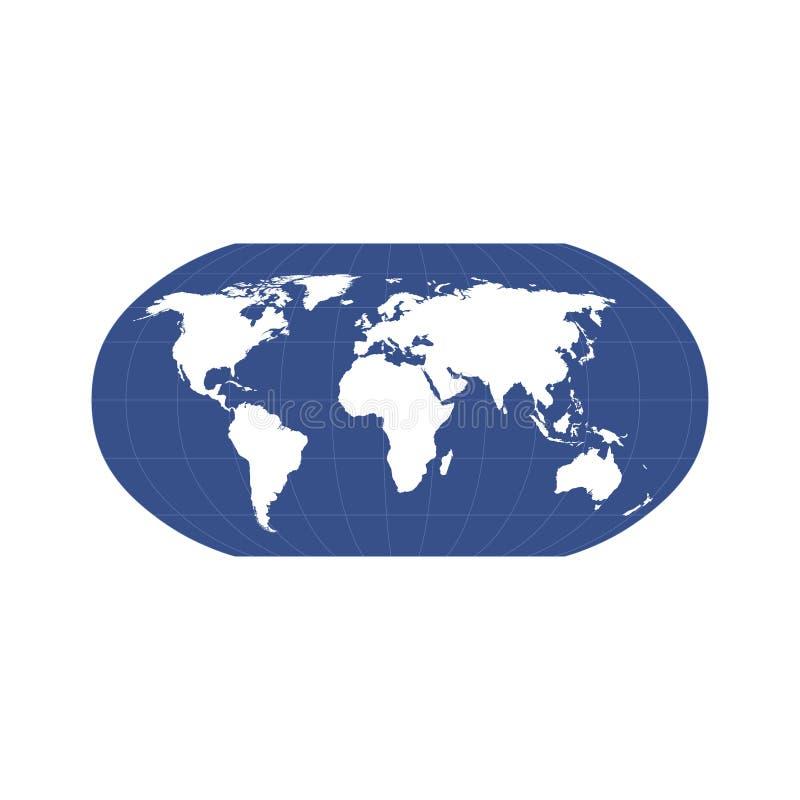 Globo brillante del mundo ilustración del vector