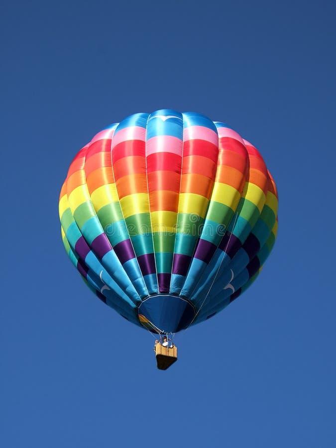 Globo coloreado multi del aire caliente foto de archivo libre de regalías