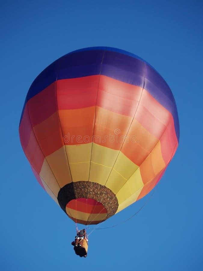 Globo colorido del aire caliente fotografía de archivo