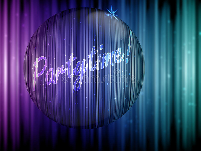 Partytime imagens de stock royalty free