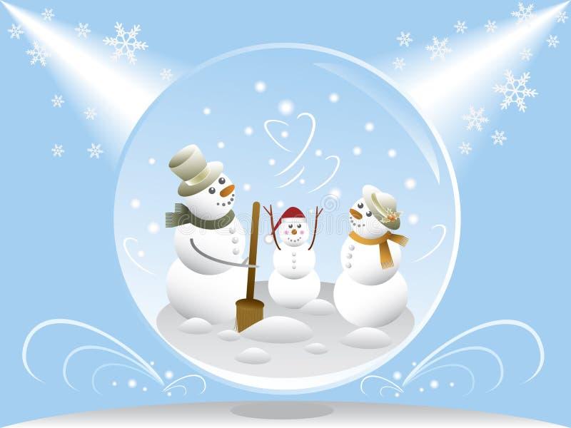 Globo da neve ilustração royalty free
