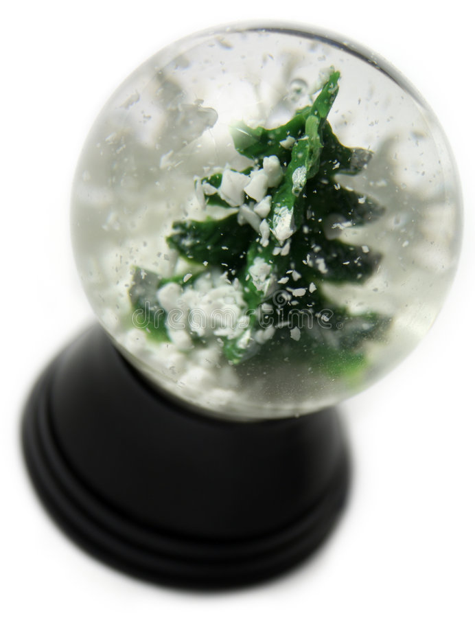 Globo da neve fotografia de stock